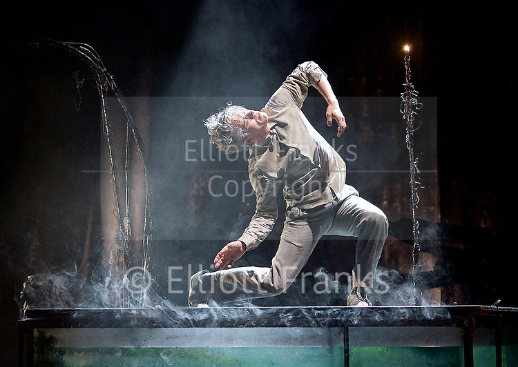 The Toad Knew <br /> James Thierree / Compagnie du Hanneton <br /> at Sadler's Wells, London, Great Britain <br /> Press photocall <br /> 3rd may 2017 <br /> <br /> James Thierree<br /> <br /> Ofelie Crispin <br /> <br /> <br /> Samuel Dutertre<br /> <br /> Herve Lassince <br /> <br /> <br /> Photograph by Elliott Franks <br /> Image licensed to Elliott Franks Photography Services