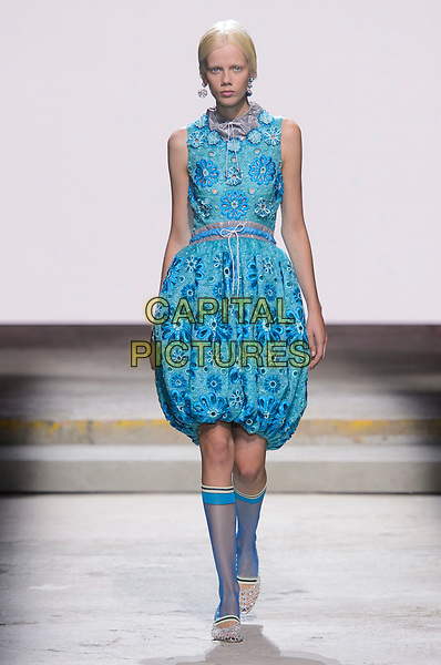 Mary Katrantzou<br /> fashion show at London Fashion Week<br /> Spring Summer 2018<br /> in London, England in September 2017.<br /> CAP/GOL<br /> &copy;GOL/Capital Pictures