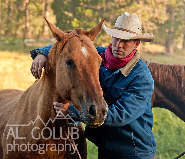 Cowboy Photography Workshop   Erickson Cattle Co. ..Dan Erickson.. Photo by Al Golub/Golub Photography