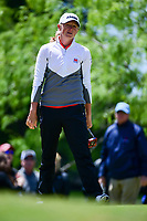 Stacy Lewis (USA) barely misses her putt on 1 during round 4 of  the Volunteers of America Texas Shootout Presented by JTBC, at the Las Colinas Country Club in Irving, Texas, USA. 4/30/2017.<br /> Picture: Golffile | Ken Murray<br /> <br /> <br /> All photo usage must carry mandatory copyright credit (&copy; Golffile | Ken Murray)