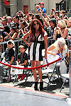 LOS ANGELES - JUL 10: Perla (wife of Slash) at a ceremony where Slash is honored with the 2,473rd Star on the Hollywood Walk of Fame on July 10, 2012 in Los Angeles, California