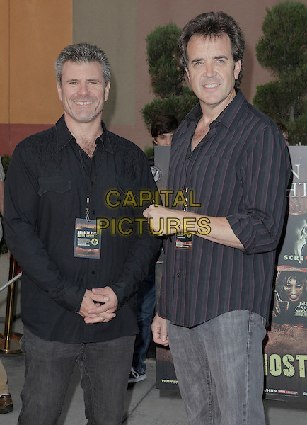 Tom Woodruff.2011 Eyegore Awards held at Universal City, California, USA..September 23rd, 2011.half length black shirt.CAP/ADM/ES.©Emiley Schweich/AdMedia/Capital Pictures.