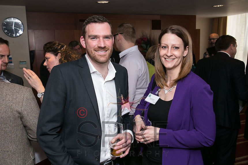 Will Evans of Performance Networks and Serena Humphrey of The F Word