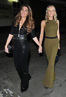 Sophie Stanbury and Caroline Fleming at the Bardou Foundatioon's International Women's Day Gala, The Hospital Club, Endell Street, London, England, UK, on Thursday 08 March 2018.<br /> CAP/CAN<br /> &copy;CAN/Capital Pictures