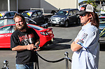 "Holden New Zealand, ""Mullet Amnesty Day"", trade your mullet for a Holden Astra, West City Holden, Auckland, New Zealand, Saturday 1st April 2017. Photo: Simon Watts/www.bwmedia.co.nz"