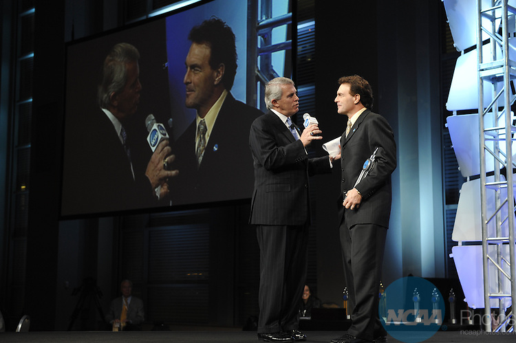 14 JAN 2010: Honorees and guests participate in the 2010 NCAA Honors Celebration at the 2010 NCAA Convention held at the Marriott Marquis and the Hyatt Regency in Atlanta, GA. Stephen Nowland/NCAA Photos.Pictured: Doug Flutie.