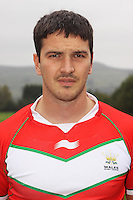 PICTURE BY IAN LOVELL/WRL...Rugby League - Wales Rugby League Headshots 2011 - 21/10/11...Wales Aled James.