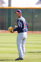 Chen Lee, Cleveland Indians 2010 minor league spring training..Photo by:  Bill Mitchell/Four Seam Images.