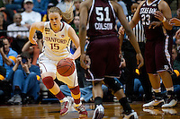INDIANAPOLIS, IN - APRIL 3, 2011: Lindy La Rocque during the NCAA Final Four against Texas A&M at Conseco Fieldhouse  in Indianapolis, IN on April 1, 2011.