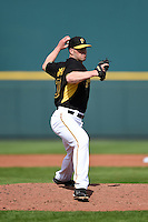 Pittsburgh Pirates pitcher Clayton Richard (30) during a Spring Training game against the New York Yankees on March 5, 2015 at McKechnie Field in Bradenton, Florida.  New York defeated Pittsburgh 2-1.  (Mike Janes/Four Seam Images)