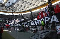 Choreographie der Eintracht Fans - 12.05.2019: Eintracht Frankfurt vs. 1. FSV Mainz 05, 33. Spieltag Bundesliga, Commerzbank Arena, DISCLAIMER: DFL regulations prohibit any use of photographs as image sequences and/or quasi-video.