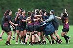 Top 4 Girls Rugby Final,Hamilton Girls High v Christchurch Girls High, Palmerston North, Massey University, Sunday 8 Septembert 2019. Photo: Simon Watts/www.bwmedia.co.nz