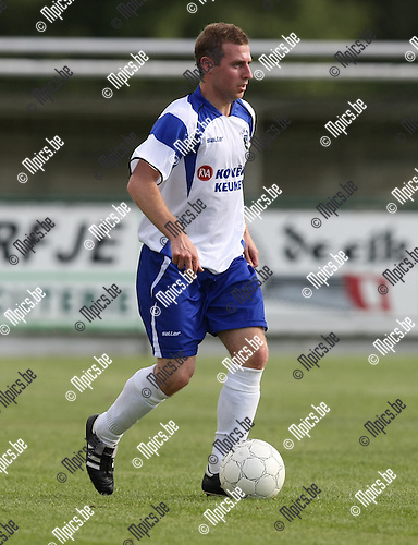 2009-07-19 / voetbal / seizoen 2009-2010 / KSK Heist / Joris Fannes..Foto: Maarten Straetemans (SMB)