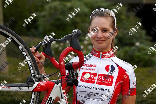 2010-04-25 / wielrennen / Dames Elite / Benelux Team /  Inge Roggeman