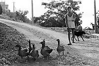 - Villaggio albanese, Queparo (Cepar&ograve;, agosto 1993); il guardiano delle oche<br /> <br /> -  Albanian  Village, Queparo (Cepar&ograve;, August 1993); the guardian of the geese