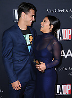 07 October  2017 - Los Angeles, California - Joe Locicero, Gina Rodriguez. L.A. Dance Project's Annual Gala held at LA Dance Project in Los Angeles.  <br /> CAP/ADM/BT<br /> &copy;BT/ADM/Capital Pictures