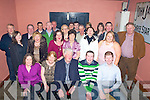 50TH: Celebration were in full swing in Herberts Bar, Kilflynn on Saturday night as Pat Buckley Lismore, Tralee celebrated his 50th birthday withg family and friends (pat is seated centre)................... .. .............................................................. ....................