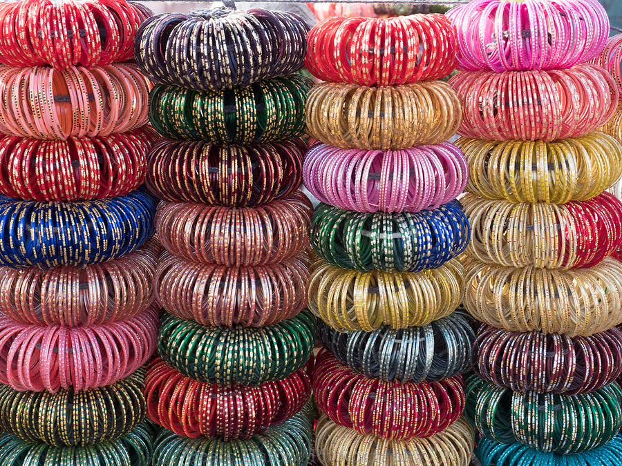 bangles in the market, Jodhpur