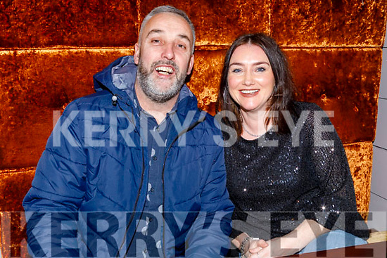Daniel Moriarty and Claire O'Connor from Tralee enjoying the evening in Benners Hotel on Saturday.