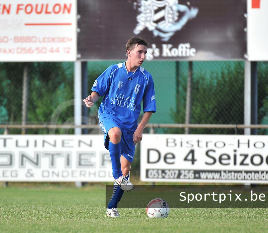 KSV Rumbeke : Arne Cleuren<br /> foto VDB / Bart Vandenbroucke