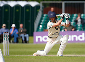June 12th 2017, Trafalgar Road Ground, Southport, England; Specsavers County Championship Division One; Day Four; Lancashire versus Middlesex; James Harris of Middlesex at the crease this morning