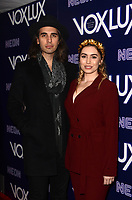 HOLLYWOOD, CA - DECEMBER 5: Nick Simmons, Sophie Simmons at the LA Premiere Of Neon's Vox Lux at ArcLight Hollywood in Hollywood California on December 4, 2018. Credit: David Edwards/MediaPunch