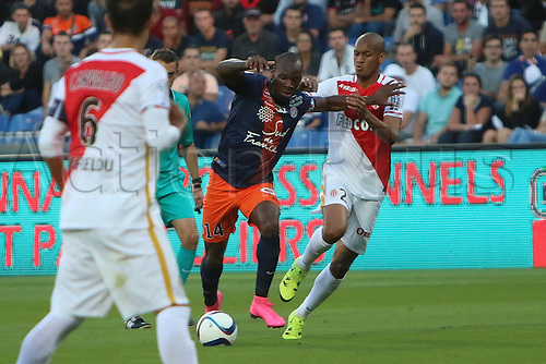 24.09.2015. Montpelier, France. French League 1 football. Montpellier versus AS Monaco.  bryan dabo mhsc
