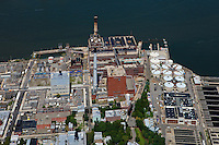 aerial photograph Brooklyn Navy Yard Cogeneration Facility, Brooklyn, New York