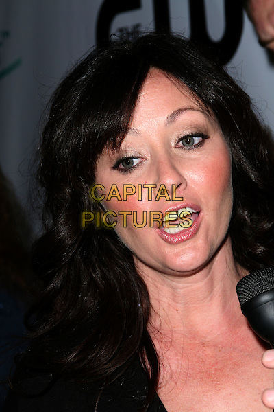 "SHANNEN DOHERTY .The CW Network's ""90210"" Premiere Party held at a Private Location, .Malibu, California, USA, .23 August 2008..portrait headshot funny.CAP/ADM/FS.©Faye Sadou/Admedia/Capital Pictures"