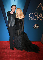 08 November 2017 - Nashville, Tennessee - CEO of Big Machine Records, Scott Borchetta and wife Sandi Spika Borchetta. 51st Annual CMA Awards, Country Music's Biggest Night, held at Bridgestone Arena. <br /> CAP/ADM/LF<br /> &copy;LF/ADM/Capital Pictures