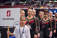 Stanford Gymnastics W Pac12 Championships Session 1, March 18, 2017