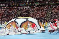 08.06.2012, WARSZAWA, PILKA NOZNA, FOOTBALL, MISTRZOSTWA EUROPY W PILCE NOZNEJ, EURO 2012, FOOTBALL EUROPEAN CHAMPIONSHIP, POLSKA VS GRECJA POLAND VS GREECE OPENING CEREMONY, FOT. ADAM JASTRZEBOWSKI / FOTO OLIMPIK