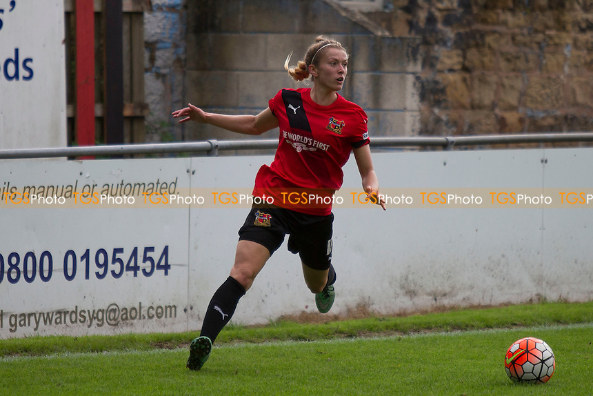 Chloe Dixon (Sheffield) during Sheffield FC Ladies vs Yeovil Town Ladies, FA Women's Super League FA WSL2 Football at the Coach and Horses Ground on 28th August 2016