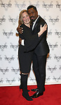Jen Garvey-Blackwell and Colman Domingo attends the Vineyard Theatre Gala honoring Colman Domingo at the Edison Ballroom on May 06, 2019 in New York City.