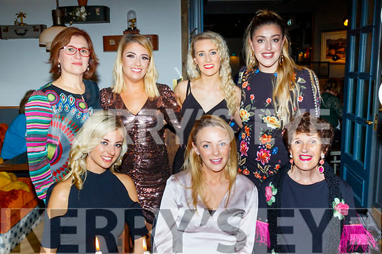Staff from Benin Casa Montessori pre school, Tralee enjoying their Christmas party last Friday night in the Ashe hotel, Tralee, seated L-R Lauren Garczynski, Leona Enright and Maria McGrath, back L-R Cristina Be Diog, Gillian Mannix, Siobhan Devane and Rosie McGrath