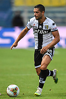 Gianluca Caprari of Parma in action during the Serie A football match between Parma Calcio and Atalanta BC at Ennio Tardini stadium in Parma (Italy), July 28th, 2020. Play resumes behind closed doors following the outbreak of the coronavirus disease. Photo Andrea Staccioli / Insidefoto