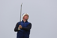 Gavin Fitzmaurice (Balcarrick) on the 4th tee during Round 3 of The West of Ireland Open Championship in Co. Sligo Golf Club, Rosses Point, Sligo on Saturday 6th April 2019.<br /> Picture:  Thos Caffrey / www.golffile.ie