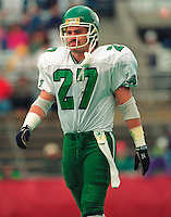 Glen Suitor Saskatchewan Roughriders. Copyright photograph Scott Grant/