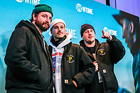 "NEW YORK - NOVEMBER 14: Portugaltheman attend the premiere of Showtime's limited series ""Escape at Dannemora"" at Alice Tully Hall in Lincoln Center on November 14, 2018 in New York City. (Photo by Kena Betancur/Showtime/PictureGroup)"