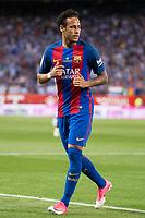 FC Barcelona's forward Neymar Santos Jr during Copa del Rey (King's Cup) Final between Deportivo Alaves and FC Barcelona at Vicente Calderon Stadium in Madrid, May 27, 2017. Spain.<br /> (ALTERPHOTOS/BorjaB.Hojas) /NortePhoto.com
