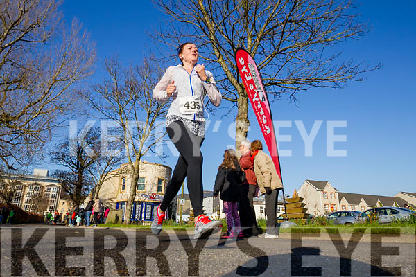 Catherina Ross, pictured at the Kerry's Eye Valentines Weekend 10 mile road race on Sunday.