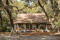 Sea Camp ranger station on the Cumberland Island National Seashore.