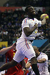 Luc Abalo. Montenegro vs France: 20-32 - Preliminary Round - Group A