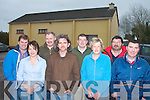 The hard working committee that are preparing to restore Ballyfinnane community hall for local events to be held there l-r: Peter O'Connor, Adah MacEntee, Seamus MacEntee, Maurice Galwey, Tomas O'Connor, Marian Burke, Seamus O'Connor and James Lynch   Copyright Kerry's Eye 2008