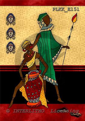 Kris, MODERN, ethnical, paintings, PLKKE151,#n#