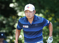 Potomac, MD - July 1, 2018:  Sung Kang walks after hitting his ball from the trees during final round at the Quicken Loans National Tournament at TPC Potomac  in Potomac, MD, July 1, 2018.  (Photo by Elliott Brown/Media Images International)