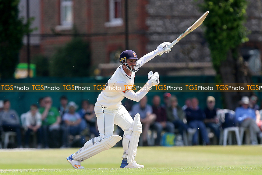 Ryan ten Doeschate hits out for Essex during Surrey CCC vs Essex CCC, Specsavers County Championship Division 1 Cricket at Guildford CC, The Sports Ground on 11th June 2017