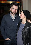 Topher Grace & Olivia Thirlby.attending the Broadway Opening Night Performance of.'Gore Vidal's The Best Man' at the Gerald Schoenfeld Theatre in New York City on 4/1/2012
