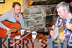 Performing at the Kilgarvan Music Festival are Eoin Coughlan and Paudie Harrington.