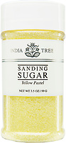India Tree Yellow Pastel Sanding Sugar, India Tree Sanding Sugars
